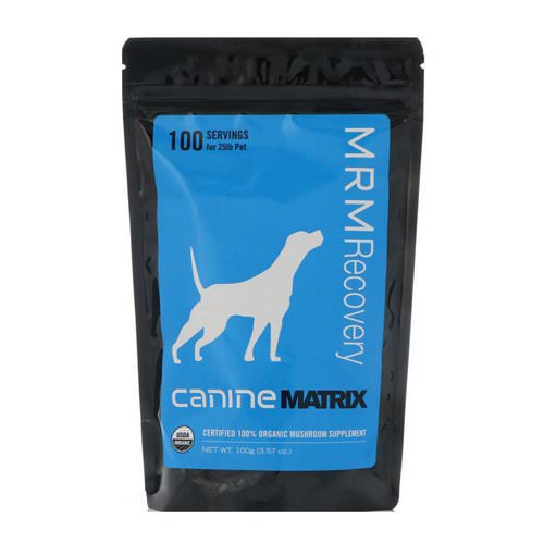 Canine Matrix, MRM Recovery, For Dogs, 3.57 oz (100 g) فوائد