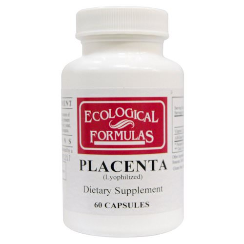 Ecological Formulas, Placenta (Lyophilized), 60 Capsules فوائد
