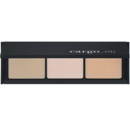 Cargo, HD Picture Perfect, Illuminating Palette, 3 x 0.13 oz / 3 x 3.6 g فوائد