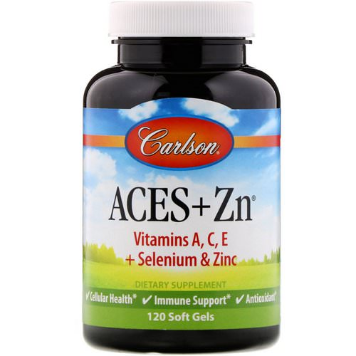 Carlson Labs, Aces + Zn, 120 Soft Gels فوائد