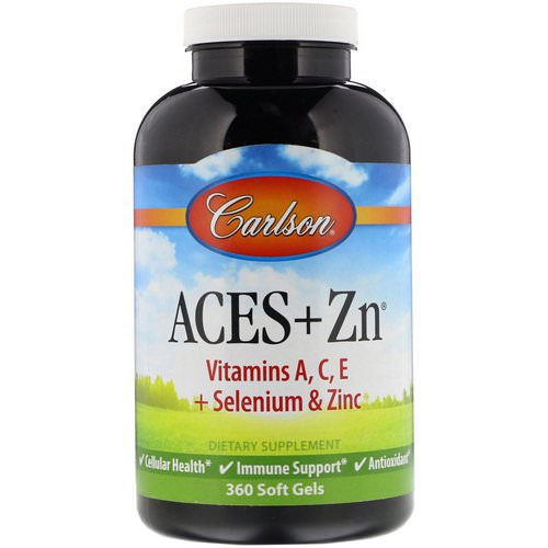 Carlson Labs, Aces + Zn, 360 Soft Gels فوائد