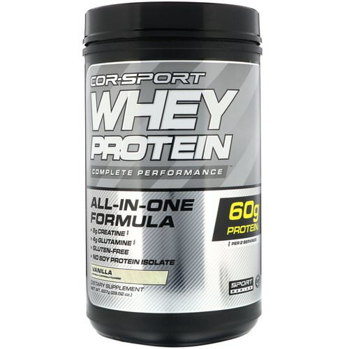 Cellucor, Whey Protein Complete Performance, Vanilla, 1.8 lbs (837 g) فوائد