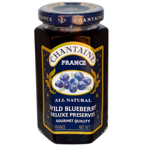 Chantaine, Deluxe Preserves, Wild Blueberry, 11.5 oz (325 g) فوائد