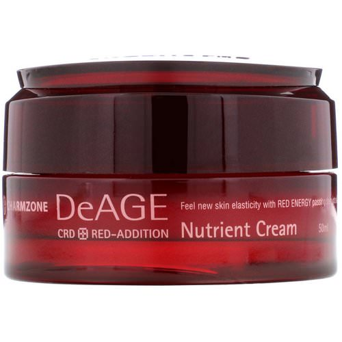 Charmzone, DeAge, Red-Addition, Nutrient Cream, 50 ml فوائد