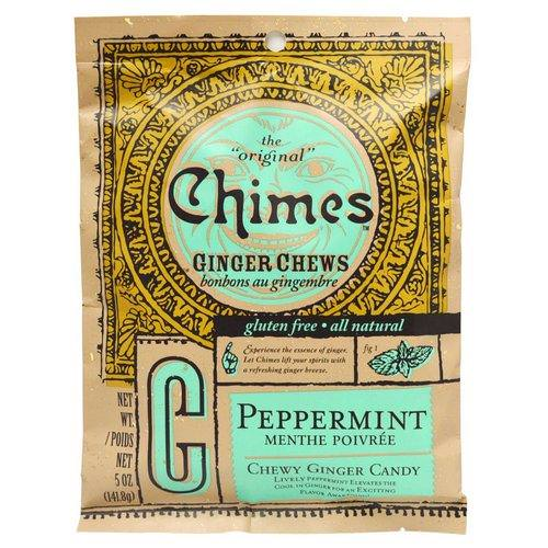 Chimes, Ginger Chews, Peppermint, 5 oz (141.8 g) فوائد