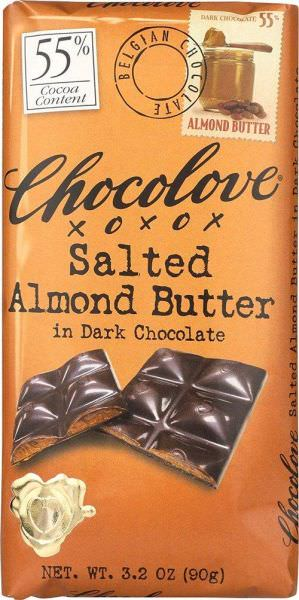 Chocolove, Salted Almond Butter in Dark Chocolate, 3.2 oz (90 g) فوائد