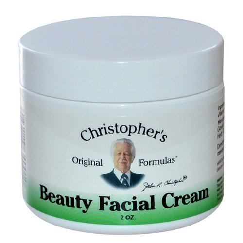Christopher's Original Formulas, Beauty Facial Cream, 2 oz فوائد