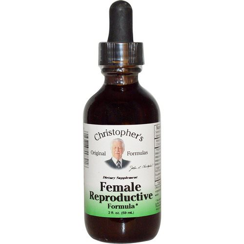Christopher's Original Formulas, Female Reproductive Formula, 2 fl oz (59 ml) فوائد