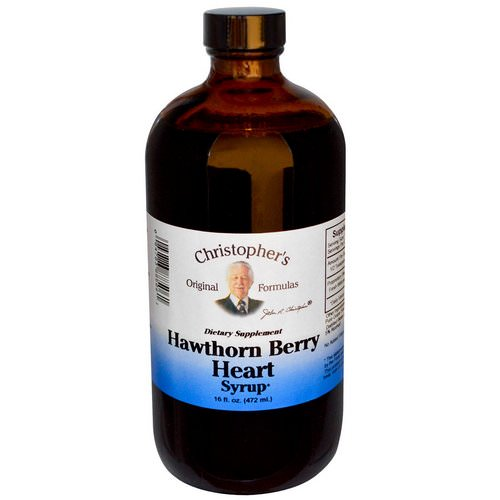 Christopher's Original Formulas, Hawthorn Berry Heart Syrup, 16 fl oz (472 ml) فوائد