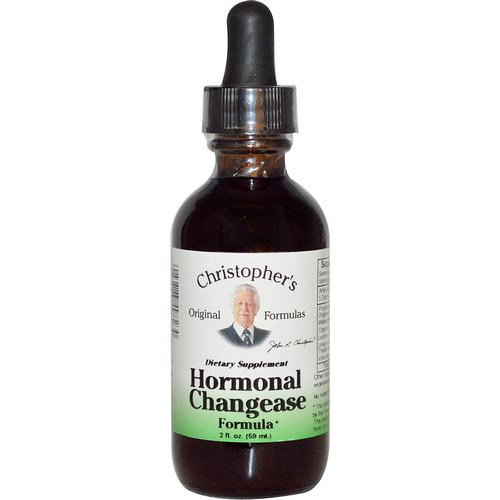 Christopher's Original Formulas, Hormonal Changease Formula, 2 fl oz (59 ml) فوائد