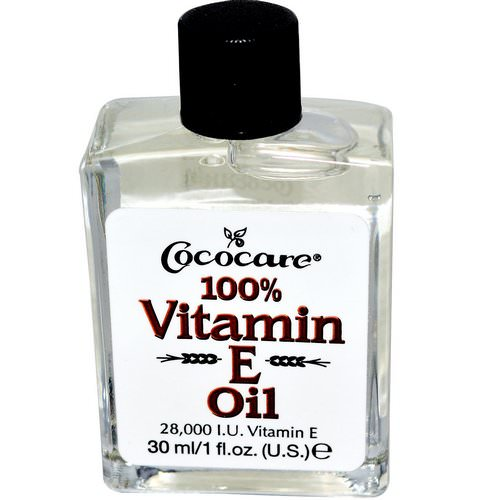 Cococare, 100% Vitamin E Oil, 28,000 IU, 1 fl oz (30 ml) فوائد