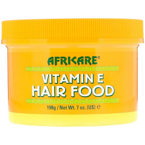 Cococare, Africare, Vitamin E Hair Food, 7 oz (198 g) فوائد