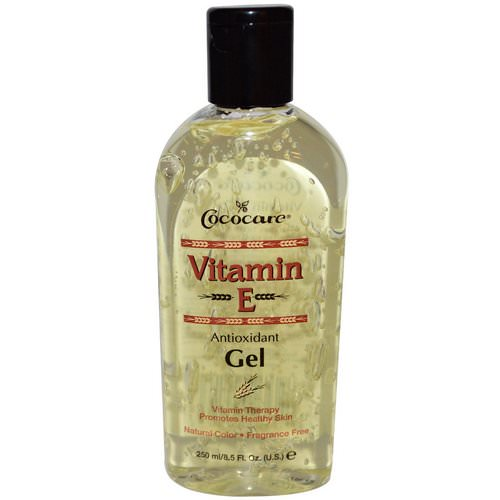 Cococare, Vitamin E Antioxidant Gel, 8.5 fl oz (250 ml) فوائد