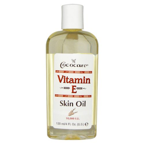 Cococare, Vitamin E Skin Oil, 4 fl oz (120 ml) فوائد