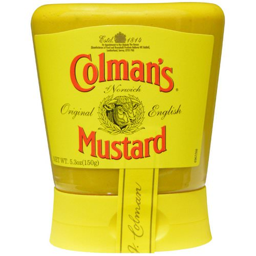 Colman's, Original English Mustard, 5.3 oz (150 g) فوائد