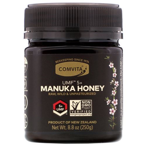 Comvita, Manuka Honey, UMF 5+, 8.8 oz (250 g) فوائد