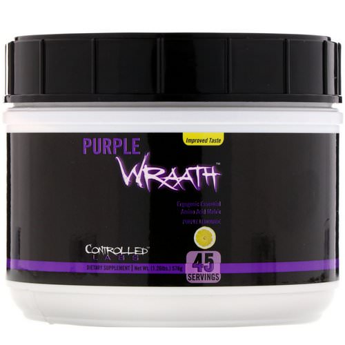 Controlled Labs, Purple Wraath, Purple Lemonade, 1.26 lbs (576 g) فوائد
