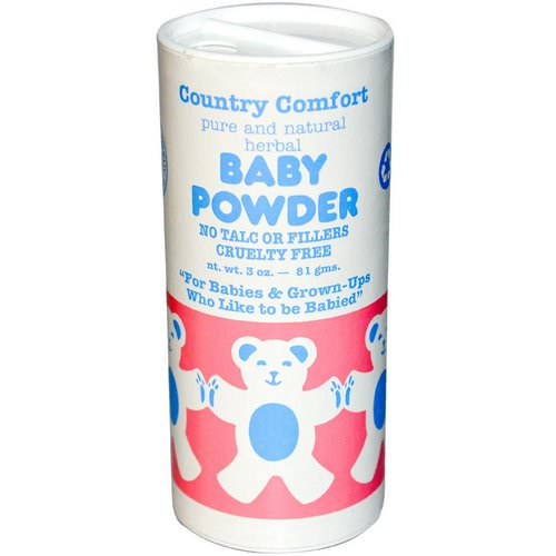 Country Comfort, Baby Powder, 3 oz (81 g) فوائد
