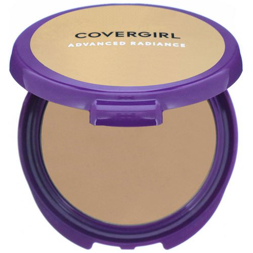 Covergirl, Advanced Radiance, Age-Defying, Pressed Powder, 120 Natural Beige, .39 oz (11 g) فوائد