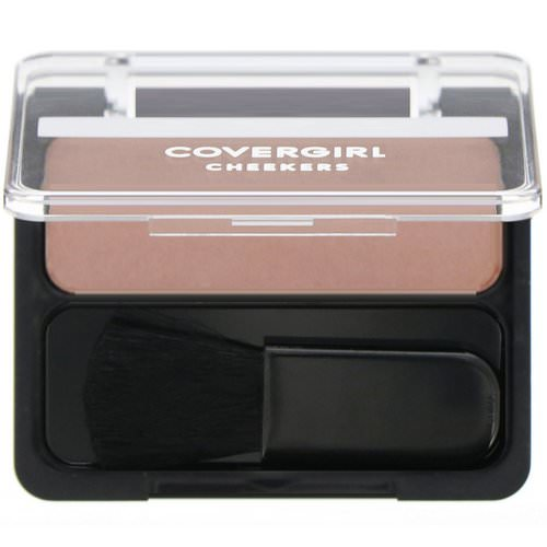 Covergirl, Cheekers, Blush, 180 Brick Rose, .12 oz (3 g) فوائد