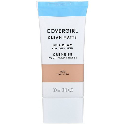 Covergirl, Clean Matte BB Cream, 520 Light, 1 fl oz (30 ml) فوائد