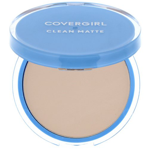 Covergirl, Clean Matte, Pressed Powder, 510 Classic Ivory, .35 oz (10 g) فوائد