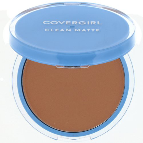 Covergirl, Clean Matte, Pressed Powder, 555 Soft Honey, .35 oz (10 g) فوائد