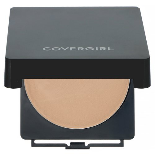 Covergirl, Clean, Powder Foundation, 525 Buff Beige, .41 oz (11.5 g) فوائد