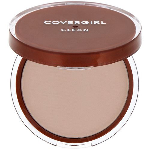 Covergirl, Clean, Pressed Powder Foundation, 120 Creamy Natural, .39 oz (11 g) فوائد