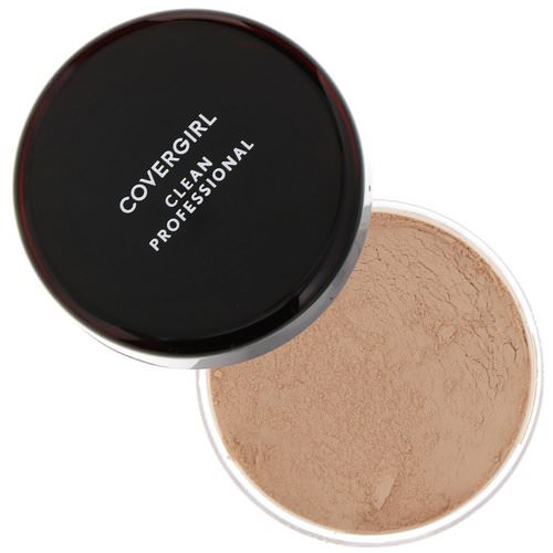 Covergirl, Clean Professional, Loose Powder, 115 Translucent Medium, .7 oz (20 g) فوائد