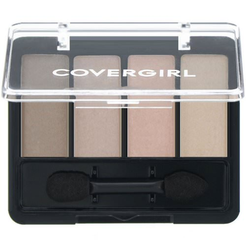 Covergirl, Eye Enhancers, Eye Shadow, 265 Sheerly Nudes, .19 oz (5.5 g) فوائد