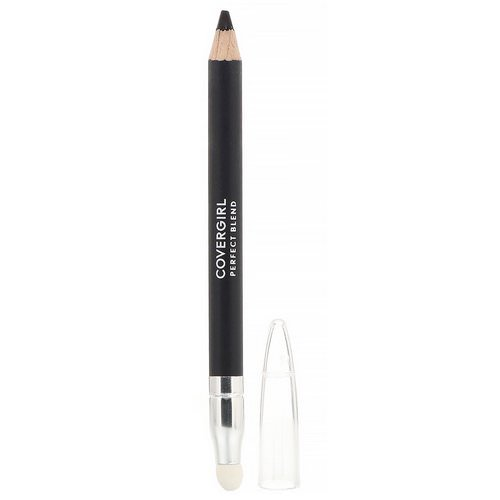 Covergirl, Perfect Blend, Eye Pencil, 100 Basic Black, .03 oz (.85 g) فوائد