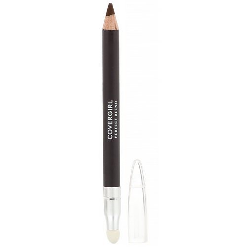 Covergirl, Perfect Blend, Eye Pencil, 110 Black Brown, .03 oz (.85 g) فوائد