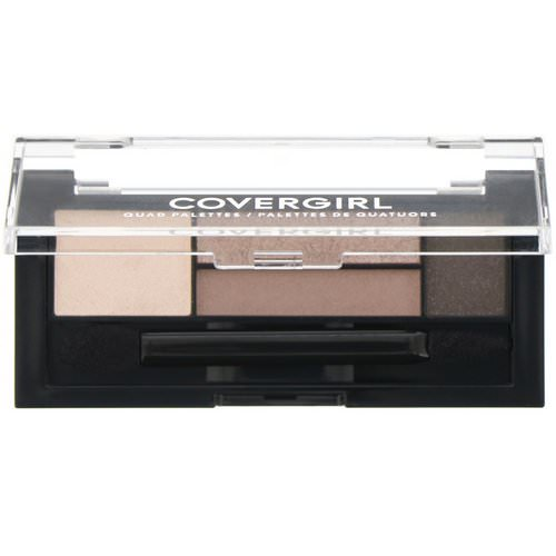 Covergirl, Quad Palettes Eye Shadow, 700 Notice Me Nudes, .06 oz (1.8 g) فوائد