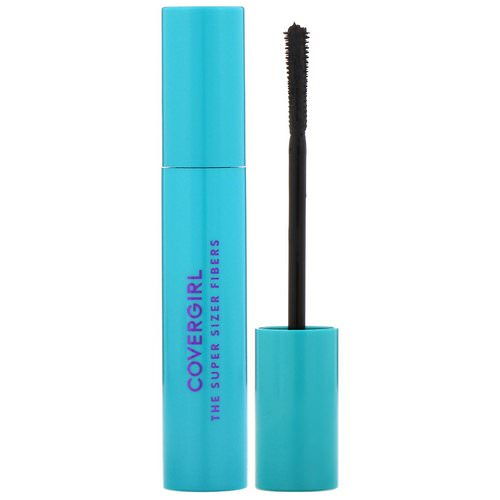 Covergirl, The Super Sizer Fibers, Mascara, 800 Very Black, .4 fl oz (12 ml) فوائد