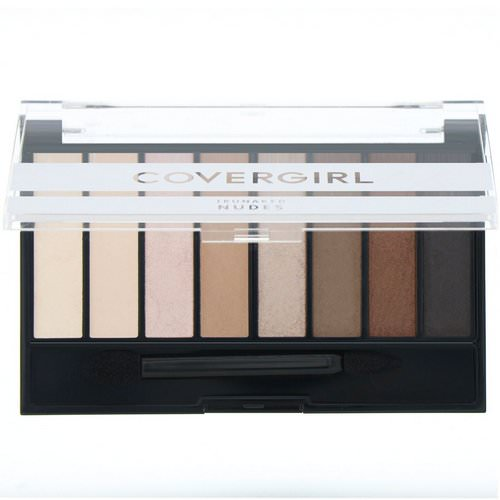 Covergirl, Trunaked, Eyeshadow Palette, Nudes, .23 oz (6.5 g) فوائد