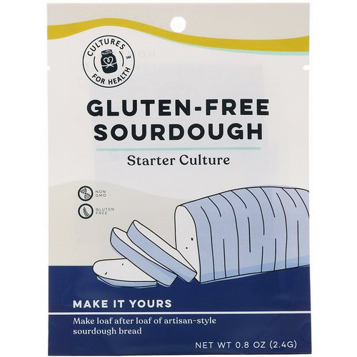 Cultures for Health, Gluten-Free Sourdough, 1 Packet, .08 oz (2.4 g) فوائد