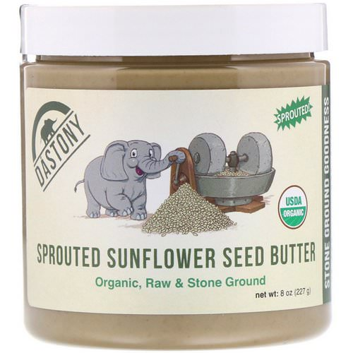 Dastony, 100% Organic Sprouted Sunflower Seed Butter, 8 oz (227 g) فوائد