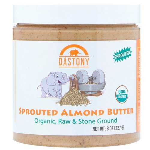 Dastony, Organic, Sprouted Almond Butter, 8 oz (227 g) فوائد