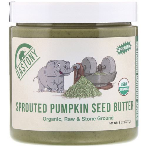 Dastony, Organic, Sprouted Pumpkin Seed Butter, 8 oz (227 g) فوائد
