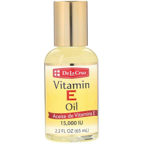 De La Cruz, Vitamin E Oil, 15,000 IU, 2.2 fl oz (65 ml) فوائد
