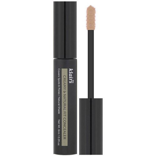 Dear, Klairs, Creamy & Natural Fit Concealer, 0.2 fl oz (6 ml) فوائد