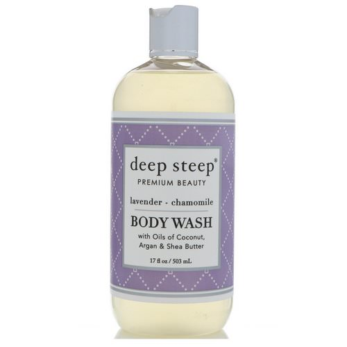Deep Steep, Body Wash, Lavender - Chamomile, 17 fl oz (503 ml) فوائد