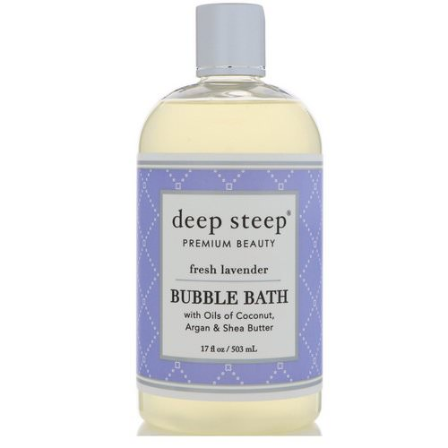Deep Steep, Bubble Bath, Fresh Lavender, 17 fl oz (503 ml) فوائد