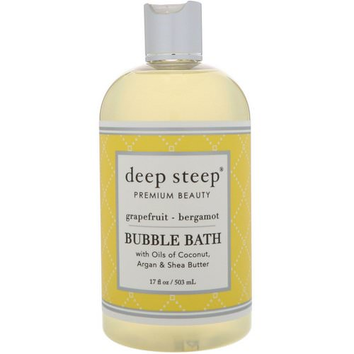 Deep Steep, Bubble Bath, Grapefruit - Bergamot, 17 fl oz (503 ml) فوائد