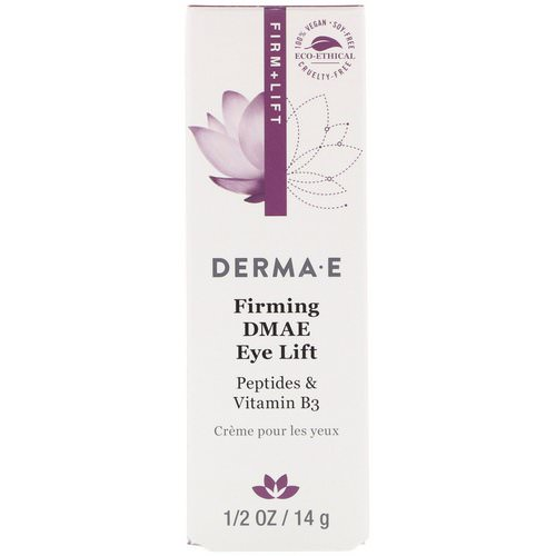 Derma E, Firming DMAE Eye Lift, 1/2 oz (14 g) فوائد