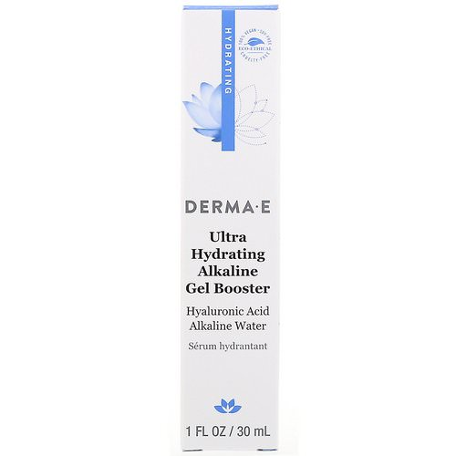 Derma E, Ultra Hydrating Alkaline Gel Booster, 1 fl oz (30 ml) فوائد