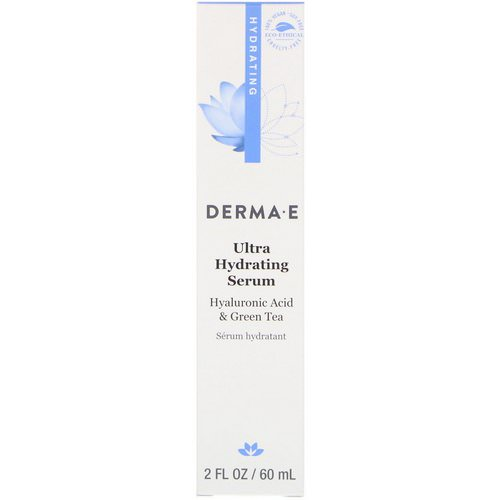 Derma E, Ultra Hydrating Serum, 2 fl oz (60 ml) فوائد