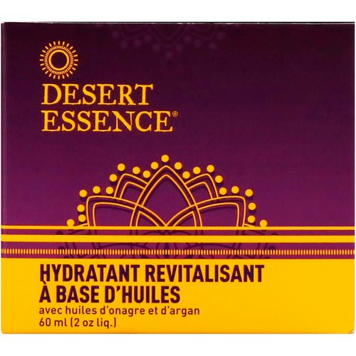 Desert Essence, Revitalizing Oils Moisturizer, 2 fl oz (60 ml) فوائد