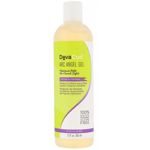 DevaCurl, Arc Angel Gel, Maximum Hold, No-Crunch Styler, 12 fl oz (355 ml) فوائد